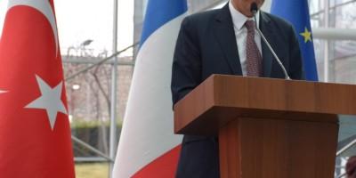 Ankara Kitap Fuarı'nı Fransa Büyükelçisi açtı