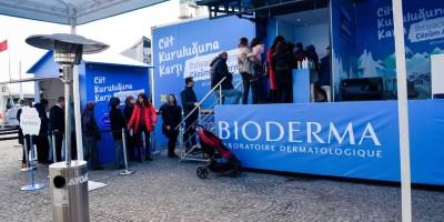 Ankara'lılar Atoderm Tırı'nda cilt analizi yaptırdı