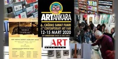 Art Boya'dan Art Ankara'da Sanata Tam Destek