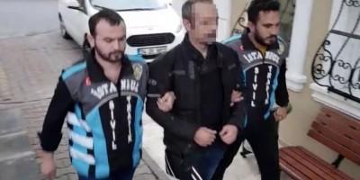 Trafikte terör estiren motorlu mağanda polisten kaçamadı